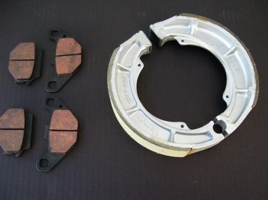 GS400ダブル用ブレーキパットシューセット