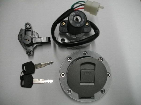XJR400用 高品質 メイン キーセット