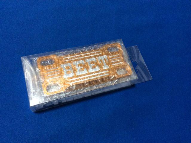 ZRX400 ZRX400-2 BEET製 ハンドルクランプ ブレース ゴールド