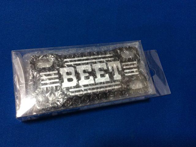 GSX400インパルス BEET製 ハンドルクランプ ブレース ブラック