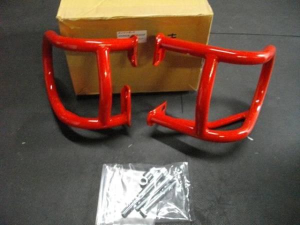 CBX400F/CBX550F エンジンガードキジマ製 赤