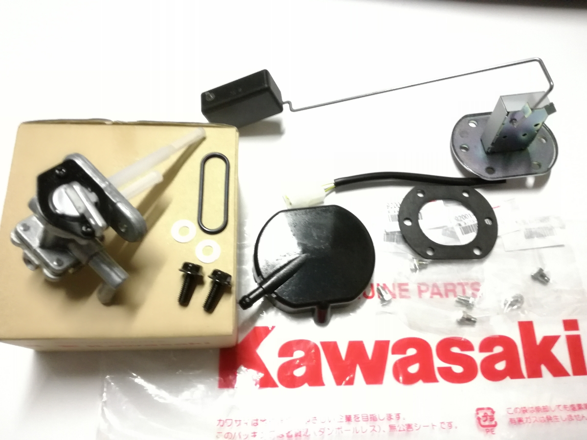 Z400GP KAWASAKI 純正 燃料センサー 燃料コックセット ボルトガスケット付き