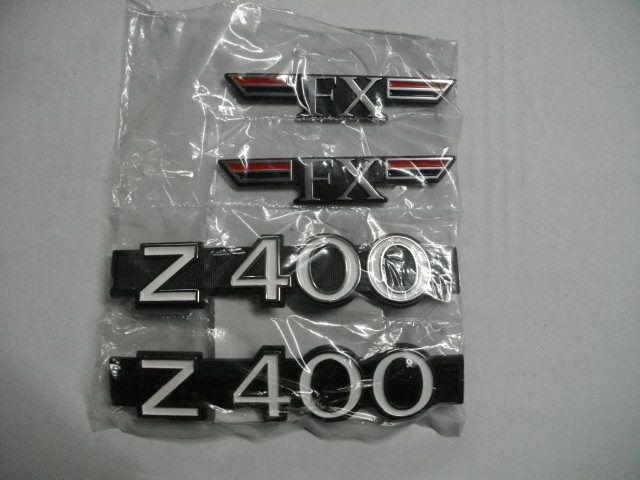 Z400FX カワサキ 純正 サイドカバー エンブレム