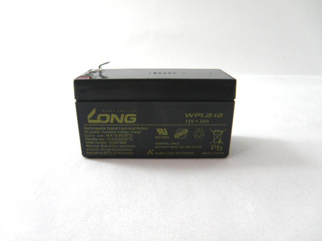新色追加して再販 LONGバッテリー 授与 スーパーSALE 保証書付き UPS 無停電電源装置 12V1.2Ah 緊急照明用バッテリー WP1.2-12 小型シール鉛蓄電池