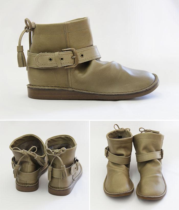 Fs3gm belt with ステッチダウンアンクル boots (1235)