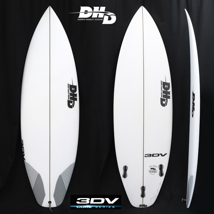 "【DHD SURFBOARDS】DHD サーフボード3DV 5'9"" 28CL 2018New Model!FCS2 3FIN オールラウンドパフォーマンスモデル送料無料"