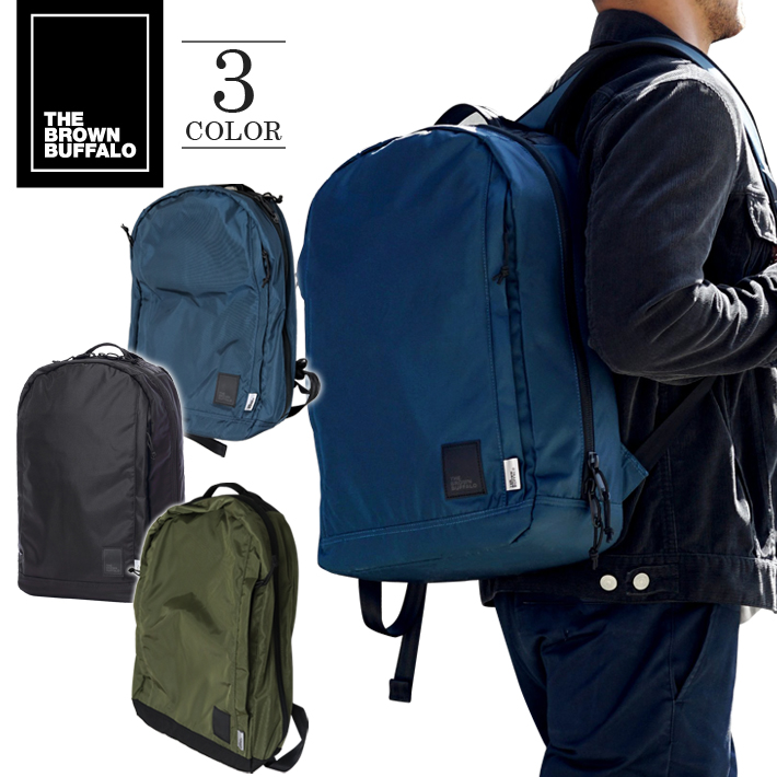 THE BROWN BUFFALO ザ ブラウン バッファロー バッグ リュック Conceal Backpack 420D バックパック リュックサック 鞄 カバン おしゃれ 旅行