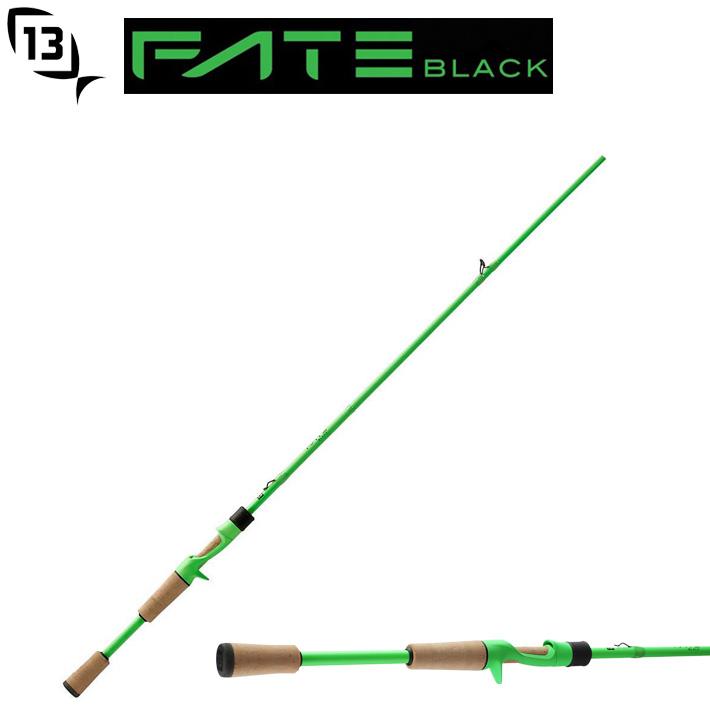 13Fishing FTB2C71MH Fate Black Generation 2 Casting Rod 13フィッシング 71MH キャスティングロッド日本製30tブランクス使用送料無料