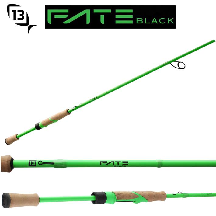13Fishing FTB2S610ML Fate Black Generation 2 Spinning Rod13フィッシング 610MLスピニングロッド日本製30tブランクス使用送料無料