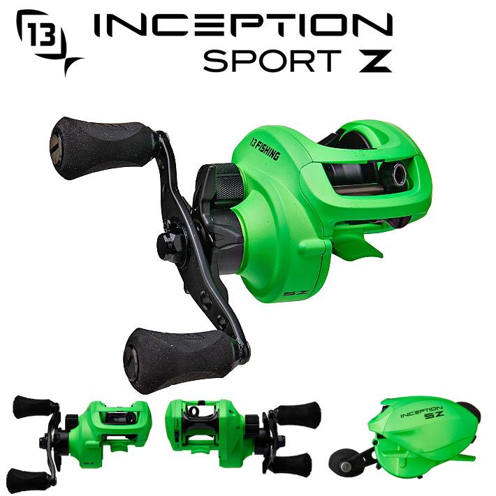 13Fishing Inception Sport Z Casting Reel13フィッシング インセプション スポーツZ ベイトリール話題のCZBのリール送料無料