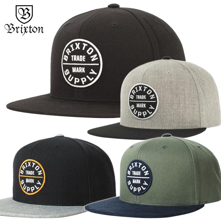 754632a8d26aa TRICKY WORLD OSAKA  BRIXTON Brixton Cap Snapback CAP!