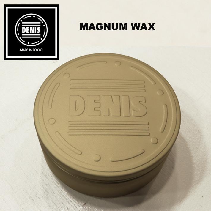 楽天市場】ヘアワックス ポマード DENIS デニス MAGNUM WAX マグナム ...