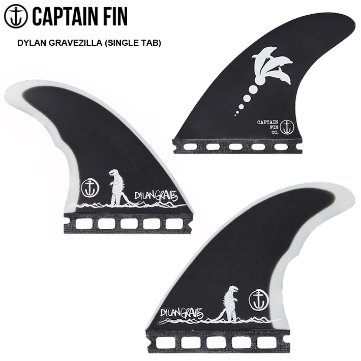 CAPTAIN FIN キャプテンフィン FUTURE フィンDYLAN GRAVES MEDIUM Single Tab 4.5FUTURE フィン3本セット 送料無料!!