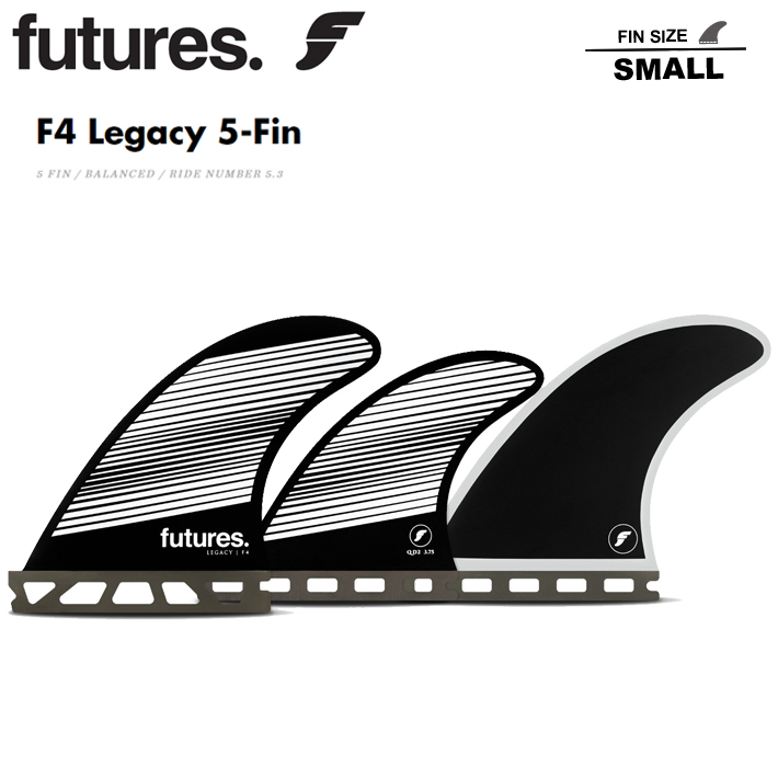 FUTURES FIN RTM HEX 5FINS F4 フューチャーフィン FUTURE FIN F4 Legacy 5-Fin フューチャーフィン5本セット サーフィン/サーフボード/サーフギア送料無料!あす楽!