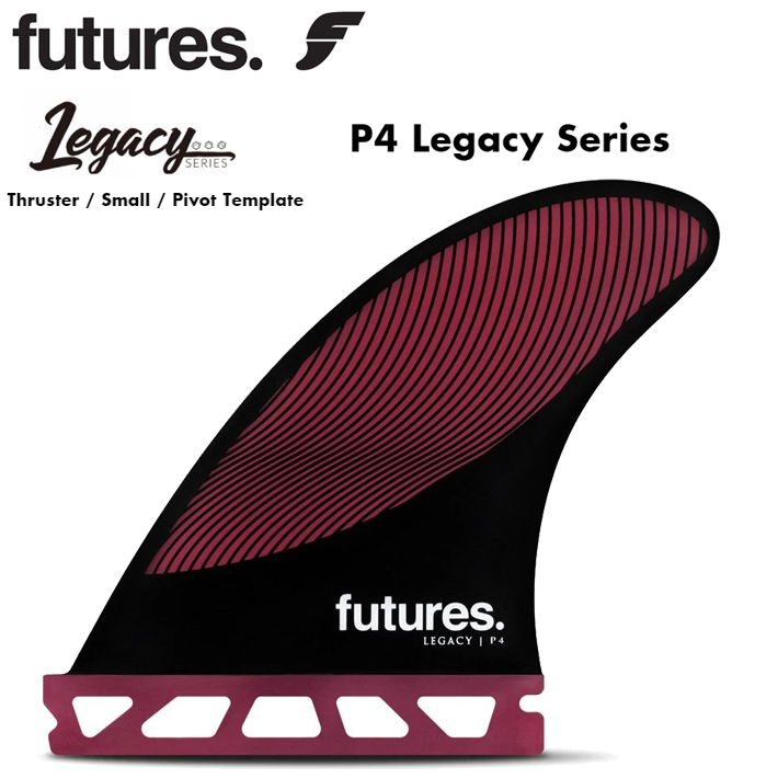 FUTURES FIN フューチャーフィン RTM HEX P4 Legacy Series Thruster / Small / Pivot Template フューチャーフィン3本セット 送料無料!あす楽!