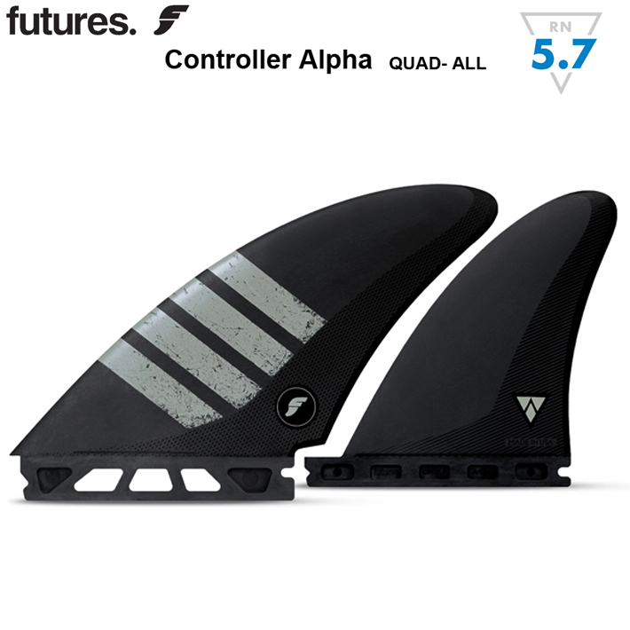 【FUTURES FIN】フューチャーフィンALPHA CONTROLLERFUTURE FIN 送料無料 クアッドフィン