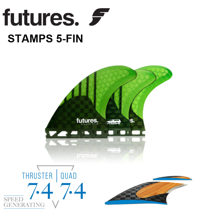 FUTURES FIN フューチャー フィンRTM HEX V2 STAMPS 5FINフューチャー 5フィン送料無料フューチャーフィン5本セットサーフィン/サーフボード/サーフギア