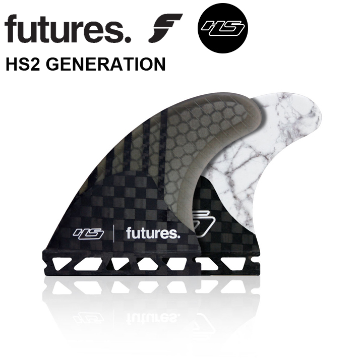 【FUTURES FIN】フューチャーフィンhayden shapes ヘイデンシェイプスFUTURE FIN 送料無料 【HS2 GENERATION】 MEDIUMフューチャーフィン3本セットサーフィン/サーフボード/サーフギア