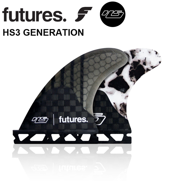 【FUTURES FIN】フューチャーフィンhayden shapes ヘイデンシェイプスFUTURE FIN 送料無料 【HS3 GENERATION】xtra-small (34-52kg) フューチャーフィン3本セットサーフィン/サーフボード/サーフギア