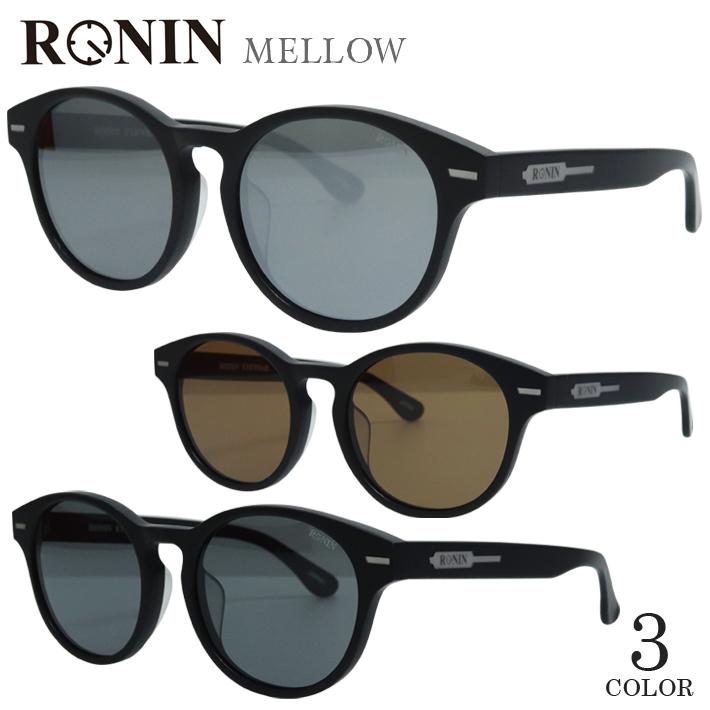 RONIN ロニン サングラス MELLOW 偏光レンズ Matt Black メンズ レディース メガネ 眼鏡 サーフィン サーフボード スケボー ハワイ おしゃれ