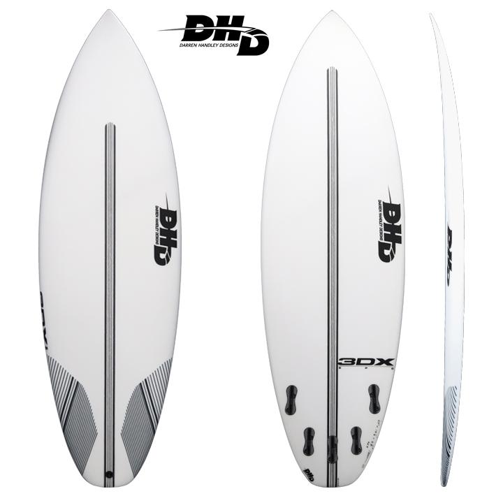 """サーフボード 【DHD SURFBOARDS】DHD 3DX EPS 5'8"""" 28L FCS2 5FIN3DX EPSモデル 送料無料!"""