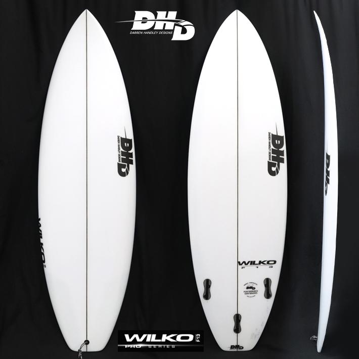 "【DHD SURFBOARDS】DHD サーフボードWILKO F13  6'4""x 20 5/8""x 2 9/16"" 35.5L FCS2 マット・ウィルキンソンシグネチャーモデル送料無料!初登場"