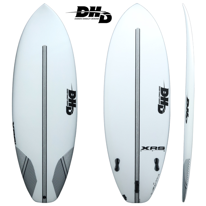 【DHD SURFBOARDS】DHD サーフボードXRS EPS 5'6 31L FCS2 Small WaveパフォーマンスボードのEPSモデル送料無料