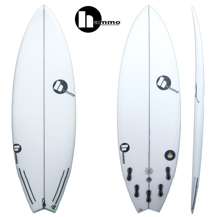 Hammo Surfboards ハモ サーフボード FIREBALL2 5'6