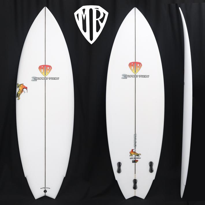【新品】MARK RICHARDS SURFBOARDS マークリチャーズ サーフボード【SUPER TWIN 5'9 SINGLE TO DOUBLE CONCAVE】FCS2 マーク・リチャーズの代名詞 スーパーツイン