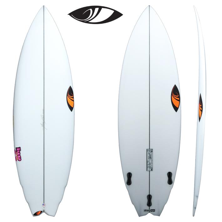 "SHARPEYE SURFBOARDS シャープアイサーフボード DISCO tech ディスコ・テック 5'8"" FCS2 3FIN人気モデルディスコと同じ特徴を残しつつテイルエリアを変更!送料無料 !"