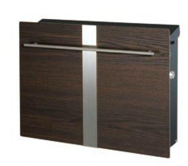 ノイエキューブ木目タイプ ライン(壁掛タイプ)タモ 高級感とおしゃれの両方を兼ね備えたスマートなデザインの玄関ポスト 鍵付きで安心♪
