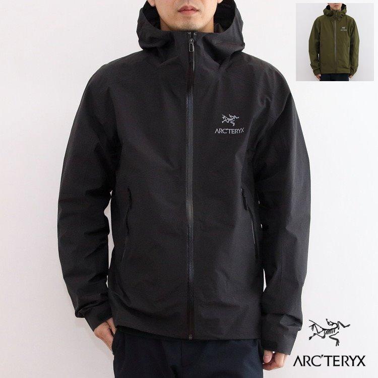 【国内正規品】ARC'TERYX(アークテリクス) Zeta SL Jacket(ゼータSLジャケット) Mens [Black][Bushwhack]【バードエイド対象】