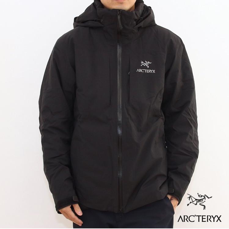【国内正規品】ARC'TERYX(アークテリクス)Fission SV Jacket(フィションSVジャケット) Mens Black