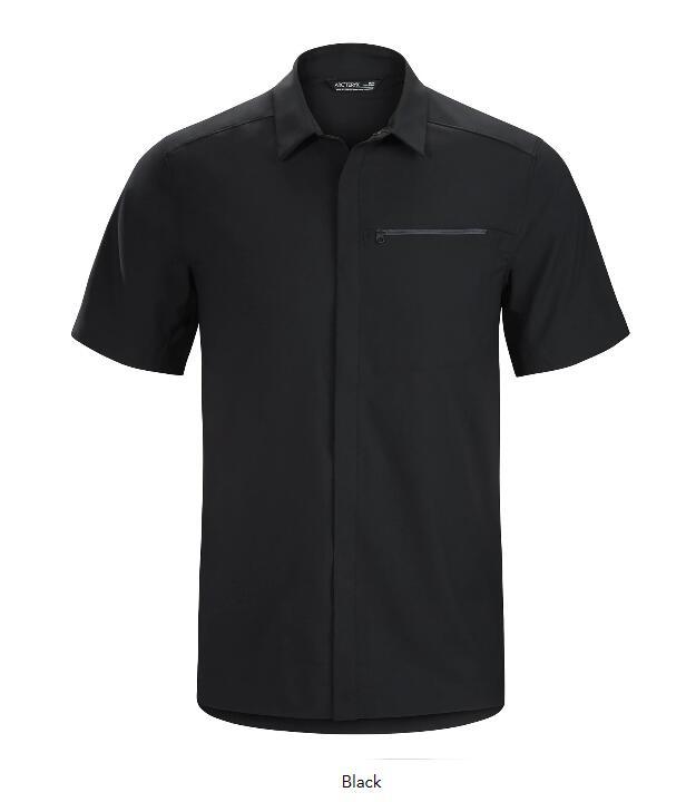 【国内正規品】ARC'TERYX(アークテリクス) Skyline SS Shirt Mens(スカイラインシャツ ショートスリーブシャツ) [黒] [黒] [黒] a3d