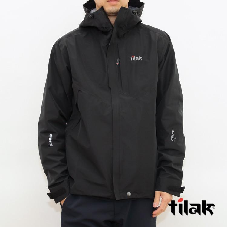 【国内正規品】tilak(ティラック) STORM Jacket(ストームジャケット) CAVIAR BLACK
