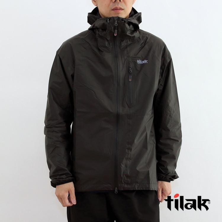 【国内正規品】tilak(ティラック) Vega SHAKEDRY Jacket(ベガシェイクドライジャケット) Mens Black