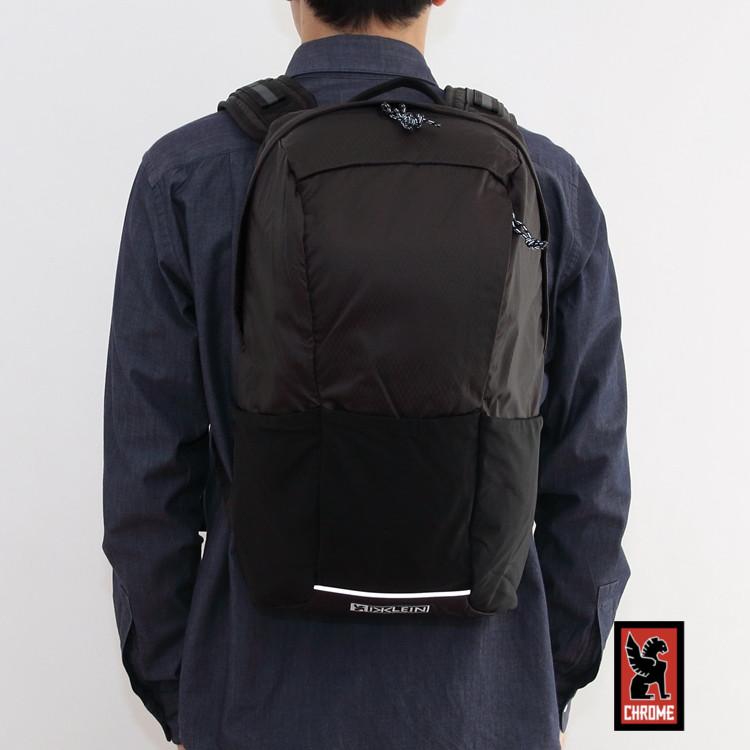 【国内正規品】CHROME(クローム) D.KLEIN BACKPACK(ダスティン クラインバックパック) BLACK