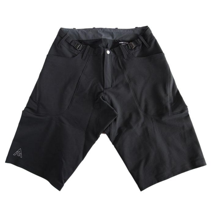 【国内正規品】7mesh (セブンメッシュ) Flightpath Shorts (フライトパス ショーツ) Black ブラック 黒