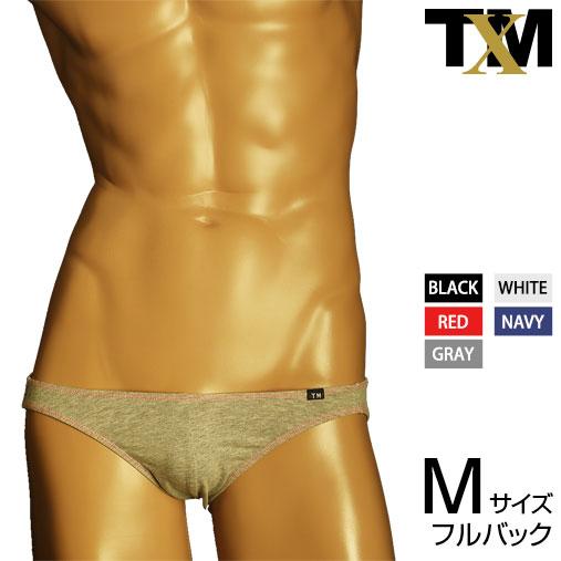 大規模セール 本日の目玉 TM Collection テイストセクシー メンズビキニ ネコポス対応 コットンベア天 配色ステッチ TMコレクション FB アンダーウェア ビキニ パンツ 下着 メンズ