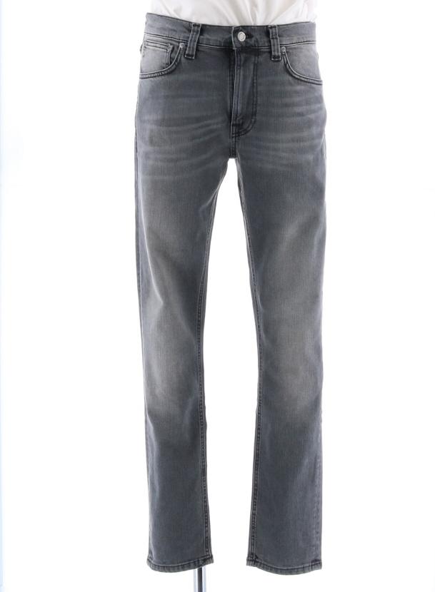 日本最大級の品揃え nudiejeans ヌーディージーンズ LEAN DEAN リーンディーン スリムフィット Mid Comfort Grey 491611101 今季も再入荷