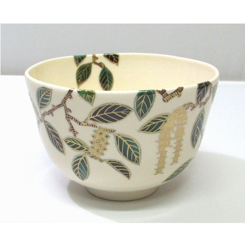 <茶道具・茶碗>新元号記念 梓の絵茶碗 相模竜泉作 新しい令和の記念の1碗にいかがですか