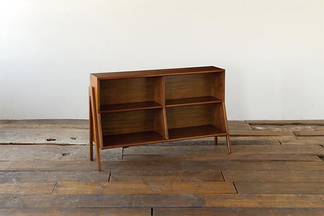アクメファニチャー ACME Furniture BROOKS BOOK SHELF ブルックス ブックシェルフ 幅125cm 木製 収納 ラック シェルフ 棚 おしゃれ 新生活 送料無料
