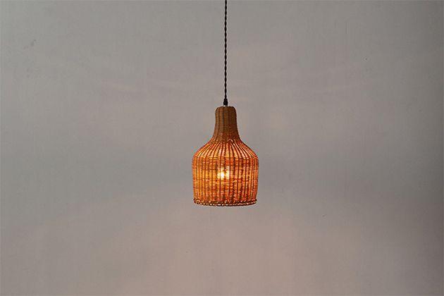 アクメファニチャー ACME Furniture WICKER LAMP ウィッカー ランプ 直径20cm 照明 天井照明 間接照明 ダイニング用 食卓用 リビング用 居間用 店舗 ショップ おしゃれ 新生活 送料無料
