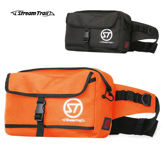 ストリームトレイル グルーム ウェストバッグ ウエストバッグ オレンジ ブラック バイク AP WAIST BAG Stream Trail ウエストポーチ メンズ アウトドア 送料無料