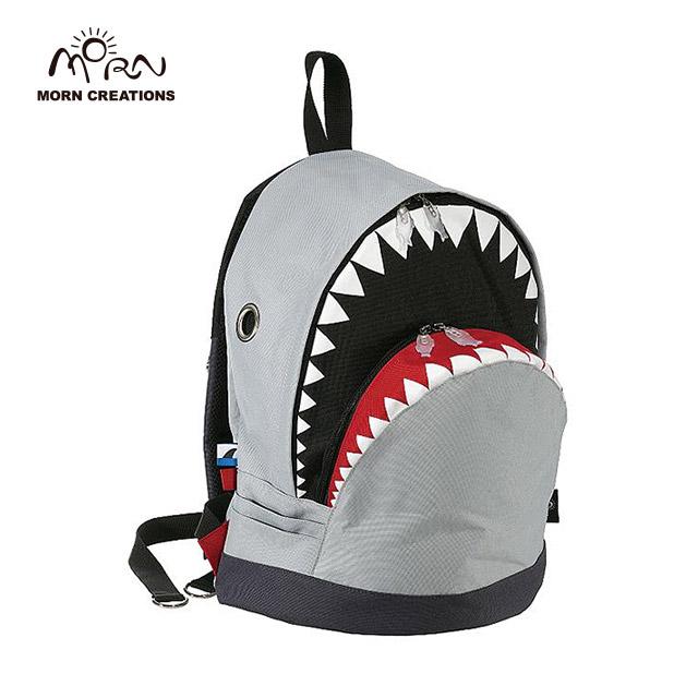 サメ リュック モーンクリエイションズ シャークバックパック L グレー MORN CREATIONS SK-101
