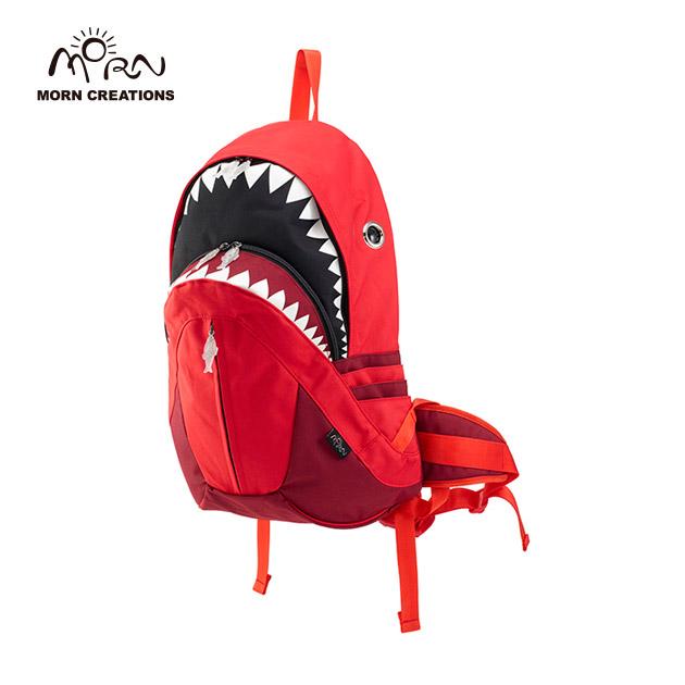 サメ リュック モーンクリエイションズ シャークバックパック レイン レッド MORN CREATIONS SK-228