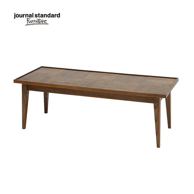 ジャーナルスタンダードファニチャー journal standard Furniture BOWERY COFFEE TABLE バワリーコーヒーテーブル 122cm デスク 木製 什器 おしゃれ 収納 店舗 ショップ カフェ 事務所 アパレル 北欧 ミッドセンチュリー 送料無料