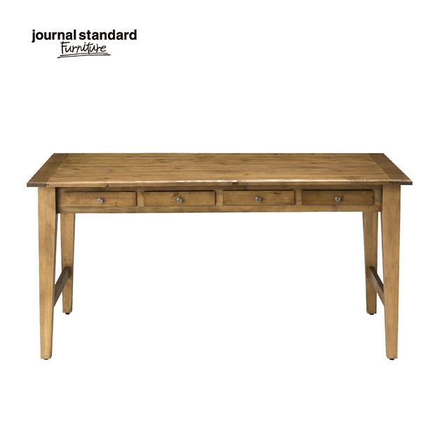 ジャーナルスタンダードファニチャー journal standard Furniture BOWERY DINING TABLE バワリーダイニングテーブル 150cm デスク 木製 什器 おしゃれ 収納 店舗 ショップ カフェ 事務所 アパレル 北欧 ミッドセンチュリー