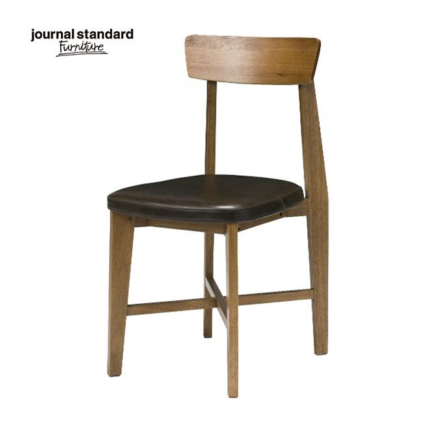 ジャーナルスタンダードファニチャー journal standard Furniture CHINON CHAIR LB LEATHER シノン レザーシート チェアー 椅子 木製 什器 おしゃれ 店舗 ショップ カフェ 事務所 アパレル 北欧 ミッドセンチュリー 送料無料
