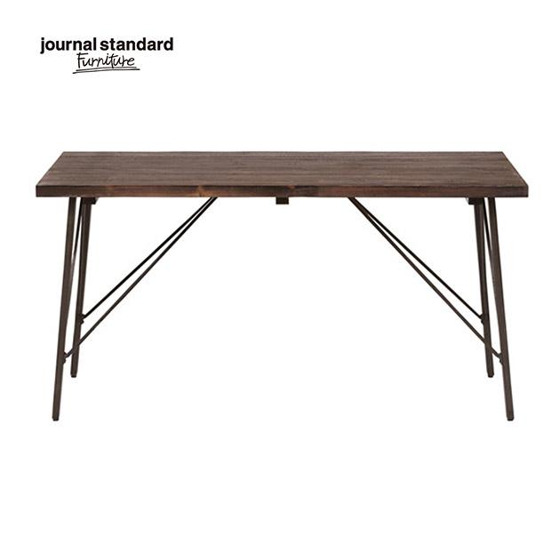 ジャーナルスタンダードファニチャー journal standard Furniture CHINON DINING TABLE M シノン ダイニングテーブル M 幅150cm 家具 木製 アイアン ヴィンテージ アンティーク カフェ 長方形 送料無料